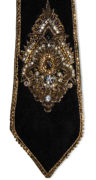 Black-Event-Designer-Tie-Embellished