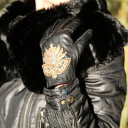 fashion-ladies-glove-bronze
