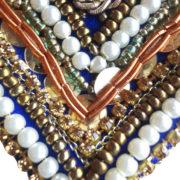 Pearl Blue Embellished Tie
